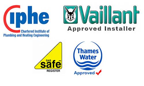 logos About us, Walton Plumbing & Heating